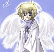 Anen angel boy colored - CRAP by hellsingfan