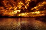 The fire in the sky by lowapproach
