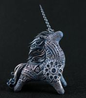 Steampunk Unicorn II by hontor