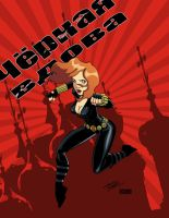 Black Widow by Kidnotorious by VPizarro626