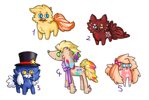 Fluffy Adopts (2open) by EpicMais