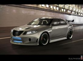 Saab 9-5 by SaphireDesign