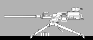 Model 50 HMG by sharp-n-pointy