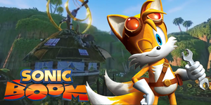 Sonic Boom Tails Wallpaper by Silverdahedgehog06
