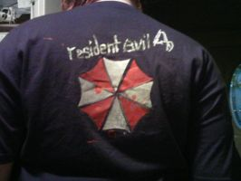 Resident Evil 4 Shirt Back by Wrayth-Pariah
