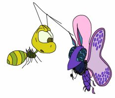 Insects by creecreehoneybees