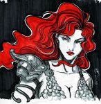 Red Sonja by loneHUNGRYwolf