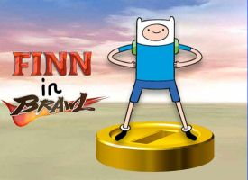 Finn joins the Brawl by rabbidlover01