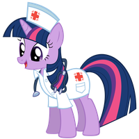 Nurse Twilight Sparkle by OTfor2