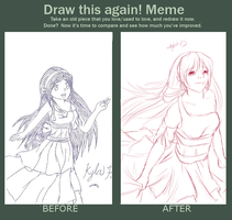 Draw This Again Meme by KanaBanana