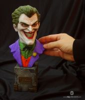 Joker MiniBust - 01 by ddgcom