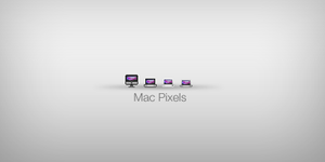Mac Pixels - Mini Icons Sets by KazumaAzuma