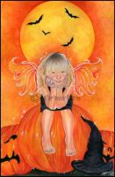 Pumpkin Pixie by Katerina-Art