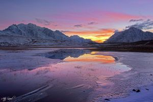 Frozen Sunset.. by M-Atif-Saeed