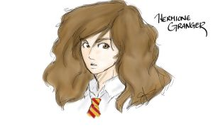 Hermione Granger by TheAleksDemon