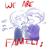 Day 2 - WE ARE FAMILY by Caelisqua