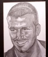 Graphite of David Beckham by jonsink