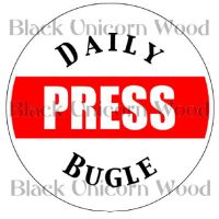 Daily Bugle Press pass by BlackUnicornWood