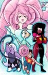 Steven Universe and The Crystal Gems by Sophillia
