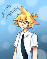 Len Kagamine by momsbaby