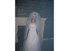Corpse Bride- Halloween '09 by celticpath