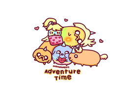 Jake The Dog Babies by saranghae012