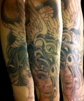 Quetzalcoatl 1st session by Uken