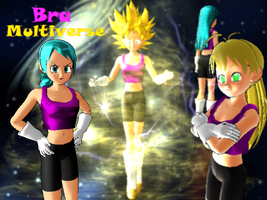 MMD Bra Multiverse + DL (fixed) by ScorpionNTL