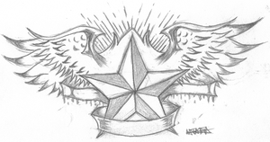 .:Star Tattoo:. by bloodyxgun