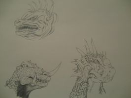 Anguirus Yongary Varan by movieartman