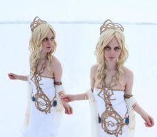 Final Fantasy Dissidia - Cosmos 002 by Charly-chan