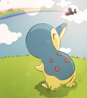 Cyndaquil Looks For The Future by ritsukun