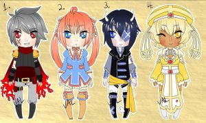 Final Dragons Rune Crusade XII Adoptables [OPEN] by lifeforce10