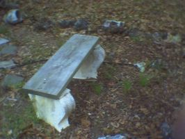 Bench in Garden by KnK-stock