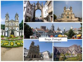 Postcard - Braga, Portugal by jpgmn