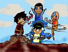 ATLA: BENDING ON! by kingthehari