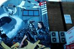 Brighton Back Street Art 2 by EarthHart