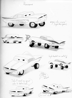Cars character sketchs-Ramone by Weirda208
