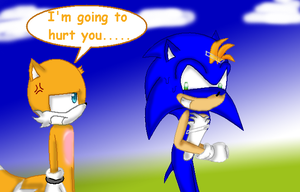 Sonic and Tails by ShadowXveronica