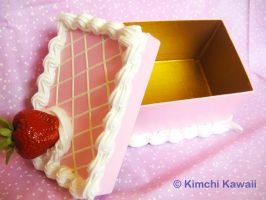 Strawberry Cake Box: Rectangle by FrostedFleurdeLis