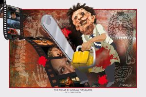 TEXAS CHAINSAW MASACCRE by LuisArriola