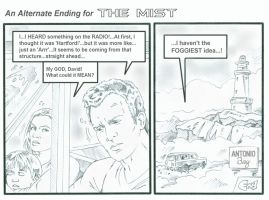 'The Mist'- Alternate Ending by karcreat