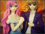 Lacus and Cagalli by sentry-sight