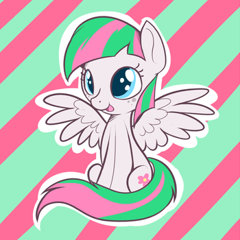 Blossomforth by TheCraftPony