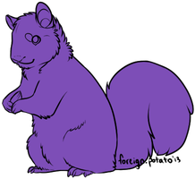 Squirrel Lines by foreign-potato