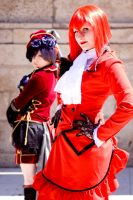 Madame Red + Ciel Phantomhive by Andy-K