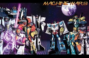 BOTCON exclusive Machine Wars print by MACHINE-WARS