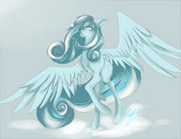 Snowdrop by geekybluepony