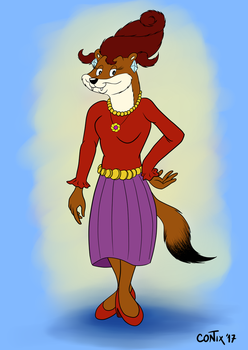 Mrs. Stoat by Contix