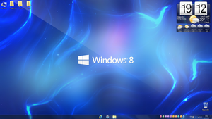 Windows 8 desktop v2 by LazyLaza